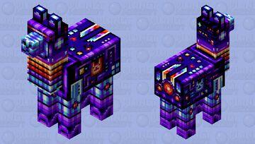 Funk Robo-Llama 4000 from Planet Awesometron Minecraft Mob Skin