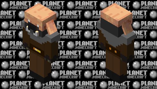 Piglin Survivor Minecraft Skin