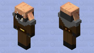 Piglin Survivor Minecraft Mob Skin