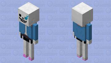 sans the skeleton [UNDERTALE] Minecraft Mob Skin