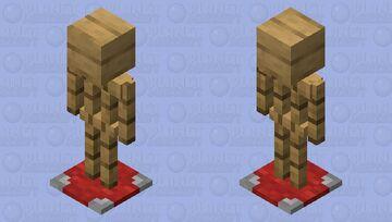 Fancy Armor Stand Minecraft Mob Skin