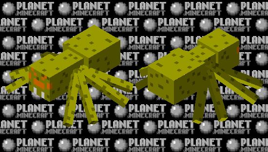 The spider of bananas Minecraft Skin