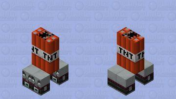 Kamikaze Pillagers Minecraft Mob Skin