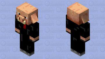 Piglin elegante Minecraft Mob Skin