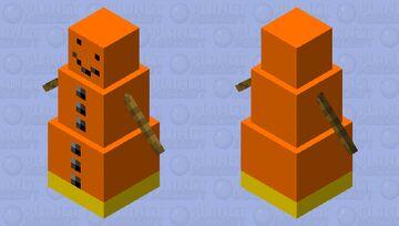 Nether Golem Minecraft Mob Skin