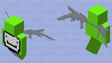 Dream Came From Heaven (Wings) Minecraft Mob Skin