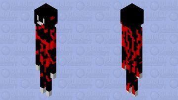 Bloddy cartoon cat Minecraft Mob Skin