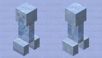 Frozen Fossil Creeper Minecraft Mob Skin