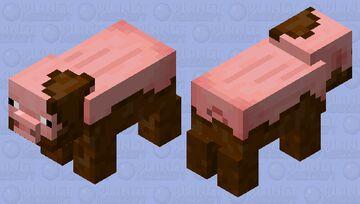 Muddy Pig (Minecraft Earth) Minecraft Mob Skin