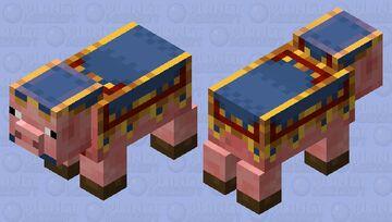 Trader pig Minecraft Mob Skin