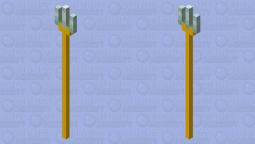 Gold Trident? Minecraft Mob Skin