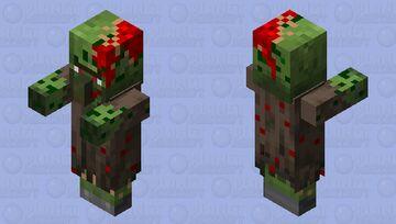 Update zombie villager Minecraft Mob Skin
