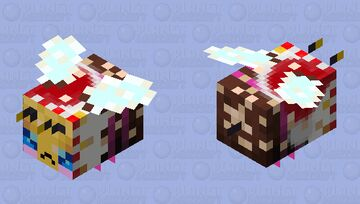 Sweeter (Christmas Edition - 128) - Angry with Pollen Minecraft Mob Skin