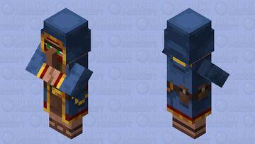 Minecraft Dungeons Wandering Trader Minecraft Mob Skin