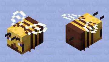bee steve Minecraft Mob Skin