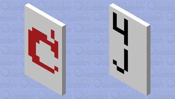 Mojang And 4J Studios Xbox 360 edition loading screen Cape Minecraft Mob Skin