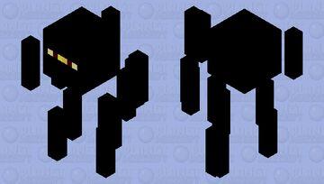 Ninja Blaze Minecraft Mob Skin