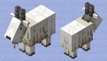 Remake Goat Minecraft Mob Skin