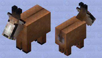 Tatra chamois Minecraft Mob Skin