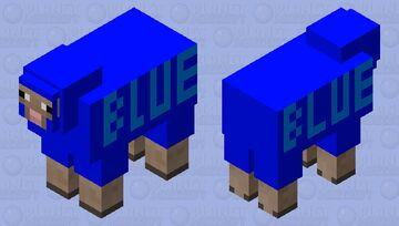Blue the Sheep Minecraft Mob Skin