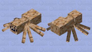 Spider Minecraft Mob Skin