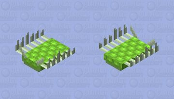 Wiwaxia (Cambrian) Minecraft Mob Skin