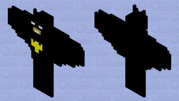 Bat Man Minecraft Mob Skin