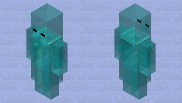 100th mob skin ghost evoker Minecraft Mob Skin