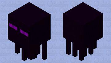 Ender Ghast (random idea) Minecraft Mob Skin