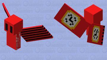Red Alarmclock Vex Minecraft Mob Skin