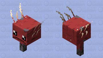 Cute Strider Minecraft Mob Skin