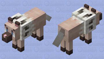 Angry Rockruff (wolf) Minecraft Mob Skin
