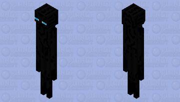 Blue-eyed Endermen Minecraft Mob Skin