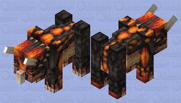 Magma Triceratops Minecraft Mob Skin