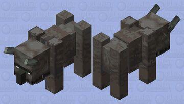Wild Ravager (No saddle or armour) Minecraft Mob Skin