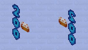 Celebration - 200th Submission Minecraft Mob Skin