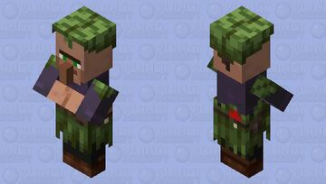 Villager / Normal village / from the Swamp / re-texturing Minecraft Mob Skin