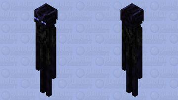 Detailed Enderman alt ver. Minecraft Mob Skin