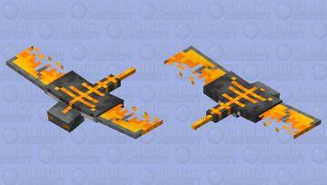 Magma Phantom Minecraft Mob Skin