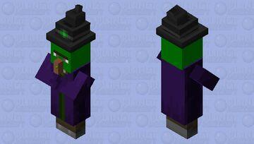 Poisoned Witch Minecraft Mob Skin