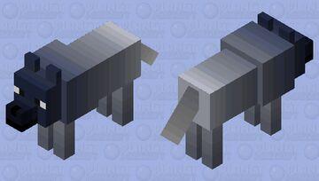 Fade Wolf Minecraft Mob Skin
