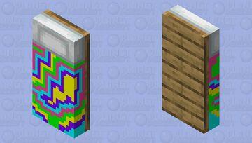tacky bed (F.Y.I. it has no legs) Minecraft Mob Skin