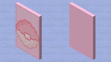 Pokémon Pink Cape Minecraft Mob Skin