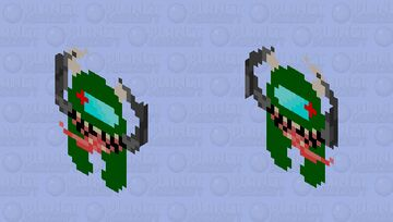 Green imposter little buddy Minecraft Mob Skin