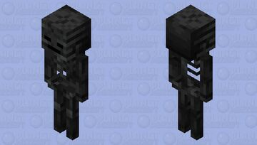 Totally a Wither Skeleton Minecraft Mob Skin