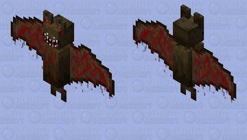 horror bat O-o Minecraft Mob Skin
