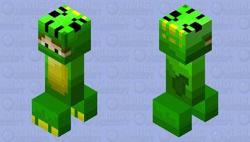 DinocreeperDesmond remastered (from MediaAzure the cat) Minecraft Mob Skin