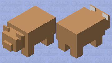 BROWN PANDa Minecraft Mob Skin
