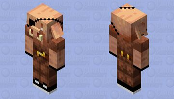 Karl the Archer Piglin Minecraft Mob Skin