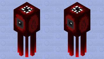 Nether Squid Minecraft Mob Skin